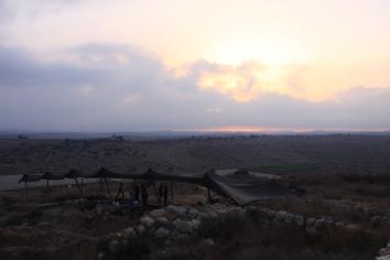 Sunrise over Area P