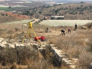 Preparation of Area P at Tel Lachish