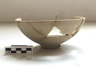 Almost complete bowl from Area S (thanks to Hadas for restoration)